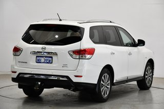 2014 Nissan Pathfinder R52 MY15 ST-L X-tronic 4WD White 1 Speed Constant Variable Wagon