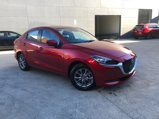 2021 Mazda 2 DL2SAA G15 SKYACTIV-Drive Pure Soul Red Crystal 6 Speed Sports Automatic Sedan.