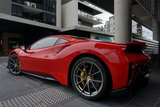 2019 Ferrari 488 Pista F142 Rosso Corsa 7 Speed Sports Automatic Dual Clutch Coupe.