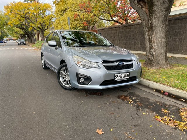 Pre-Owned Subaru Impreza G4 MY14 2.0i Lineartronic AWD Hawthorn, 2014 Subaru Impreza G4 MY14 2.0i Lineartronic AWD Silver 6 Speed Constant Variable Hatchback