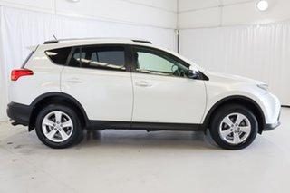 2013 Toyota RAV4 ALA49R GXL AWD White 6 Speed Sports Automatic Wagon.