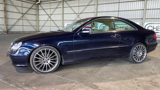 2002 Mercedes-Benz CLK-Class C208 CLK320 Avantgarde Blue 5 Speed Automatic Coupe.