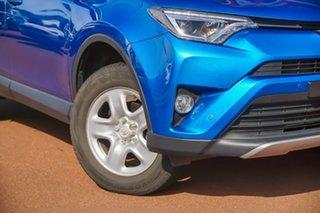 2018 Toyota RAV4 ASA44R GX AWD Blue 6 Speed Sports Automatic Wagon.