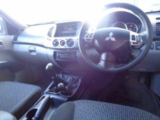 2011 Mitsubishi Triton MN MY11 GLX-R Double Cab Bronze 5 Speed Manual Utility