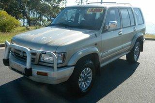 2002 Holden Jackaroo U8 MY02 Nullabor Silver 4 Speed Automatic Wagon