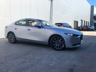 2020 Mazda 3 BP2S7A G20 SKYACTIV-Drive Evolve Sonic Silver 6 Speed Sports Automatic Sedan.