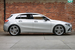 2018 Mercedes-Benz A-Class W177 A250 DCT 4MATIC Limited Edition Silver, Chrome 7 Speed