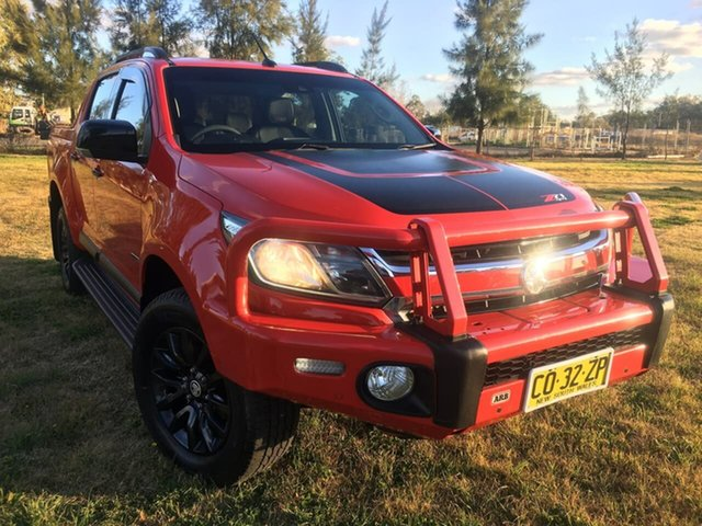 Used Holden Colorado RG Z71 Dubbo, 2016 Holden Colorado RG Z71 Red Sports Automatic