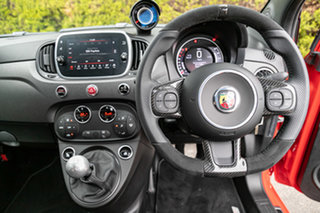 2018 Abarth 595 Series 4 Competizione Red 5 Speed Manual Hatchback