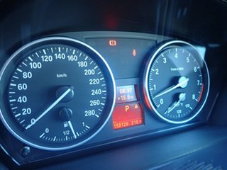 2007 BMW 335i E93 Silver 6 Speed Auto Steptronic Convertible