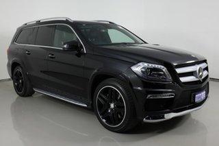 2015 Mercedes-Benz GL500 X166 MY14 Black 7 Speed Automatic Wagon.