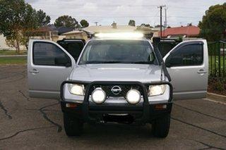 2011 Nissan Navara D40 ST-X (4x4) Silver 6 Speed Manual King Cab Chassis