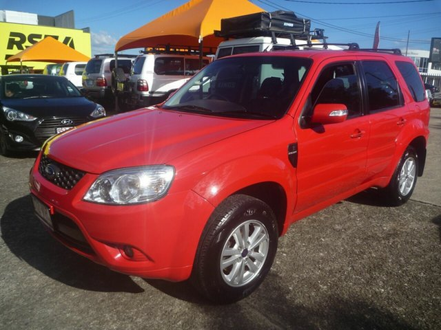 Used Ford Escape ZD Morayfield, 2010 Ford Escape ZD Red 4 Speed Automatic SUV
