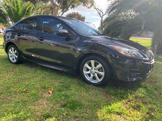2009 Mazda 3 BL10F1 Maxx Sport Black/Grey 6 Speed Manual Sedan.