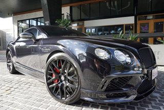 2017 Bentley Continental 3W Supersports Black Onyx 8 Speed Sports Automatic Coupe