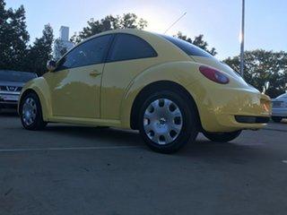 2006 Volkswagen Beetle 9C MY2007 TDI Coupe Yellow 5 Speed Manual Liftback