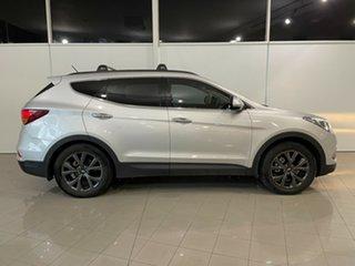2018 Hyundai Santa Fe DM5 MY18 Active X 2WD Silver, Chrome 6 Speed Sports Automatic Wagon