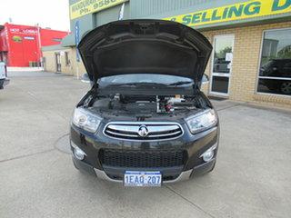 2012 Holden Captiva CG Series II 7 LX Black 6 Speed Automatic Wagon.