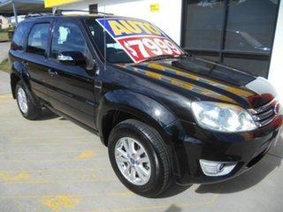 2008 Ford Escape ZC XLS Black 4 Speed Automatic SUV.