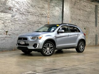 2015 Mitsubishi ASX XB MY15 XLS 2WD Silver 6 Speed Constant Variable Wagon.