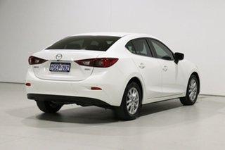2016 Mazda 3 BN MY17 Maxx White 6 Speed Automatic Sedan