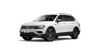 2021 Volkswagen Tiguan 5N MY21 162TSI Highline DSG 4MOTION Allspace Pure White 7 Speed.