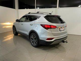 2018 Hyundai Santa Fe DM5 MY18 Active X 2WD Silver, Chrome 6 Speed Sports Automatic Wagon.