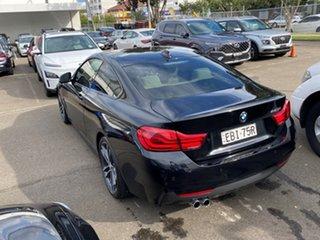 2017 BMW 4 Series F32 LCI 420i M Sport Black Sapphire 8 Speed Sports Automatic Coupe.