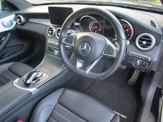 2018 Mercedes-Benz C-Class C205 808MY C300 9G-Tronic Black 9 Speed Sports Automatic Coupe