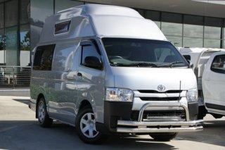 2015 Toyota HiAce KDH201R LWB Silver 4 Speed Automatic Van.