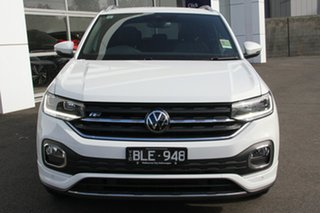 2020 Volkswagen T-Cross C1 MY21 85TSI DSG FWD Style White 7 Speed Sports Automatic Dual Clutch Wagon