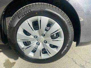 2015 Toyota Yaris NCP131R SX Grey 4 Speed Automatic Hatchback.