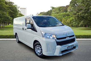 2019 Toyota HiAce GRH300R LWB White 6 Speed Sports Automatic Van.