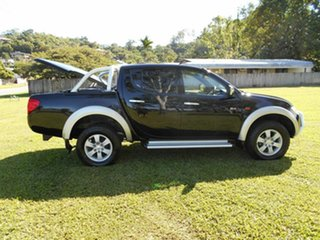 2008 Mitsubishi Triton ML MY09 GLX-R (4x4) Black 5 Speed Manual 4x4 Double Cab Utility