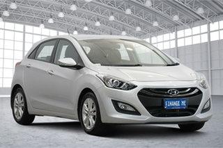 2014 Hyundai i30 GD2 MY14 SE Silver 6 Speed Sports Automatic Hatchback.