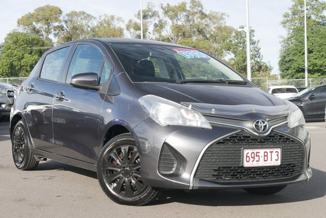 Used Toyota Yaris NCP130R Ascent Hillcrest, 2015 Toyota Yaris NCP130R Ascent Grey 5 Speed Manual Hatchback