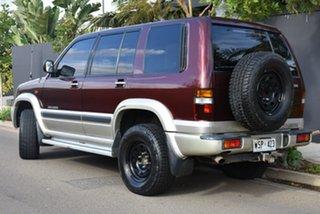 2001 Holden Jackaroo U8 MY01 SE Maroon 5 Speed Manual Wagon.