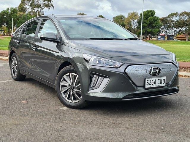 Demo Hyundai Ioniq AE.V4 MY21 electric Elite Nailsworth, 2021 Hyundai Ioniq AE.V4 MY21 electric Elite Amazon Gray 1 Speed Reduction Gear Fastback
