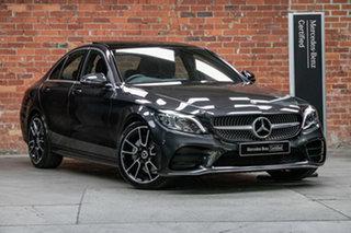2020 Mercedes-Benz C-Class W205 800+050MY C200 9G-Tronic Graphite Grey 9 Speed Sports Automatic.