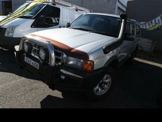2001 Ford Courier PE GL (4x4) Silver 5 Speed Manual 4x4 Crew Cab Pickup.