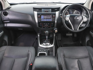 2015 Nissan Navara NP300 D23 ST-X (4x4) Black 7 Speed Automatic Dual Cab Utility