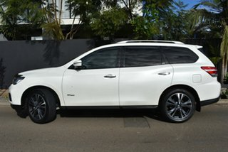 2017 Nissan Pathfinder R52 Series II MY17 Ti X-tronic 4WD Pearl White 1 Speed Constant Variable.