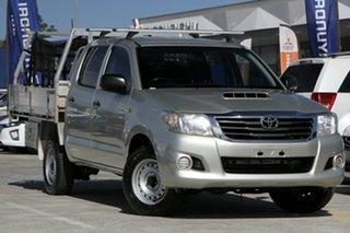 2014 Toyota Hilux KUN16R MY14 SR Xtra Cab 4x2 Gold 5 Speed Manual Utility.