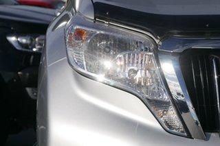 2015 Toyota Landcruiser Prado GDJ150R GXL Silver 6 Speed Sports Automatic Wagon.