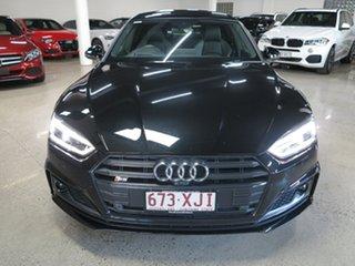 2017 Audi S5 F5 MY18 Sportback Tiptronic Quattro Black 8 Speed Sports Automatic Hatchback.