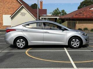 2012 Hyundai Elantra MD2 Active Silver 6 Speed Manual Sedan.