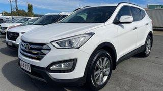 2013 Hyundai Santa Fe DM MY14 Elite White 6 Speed Sports Automatic Wagon.