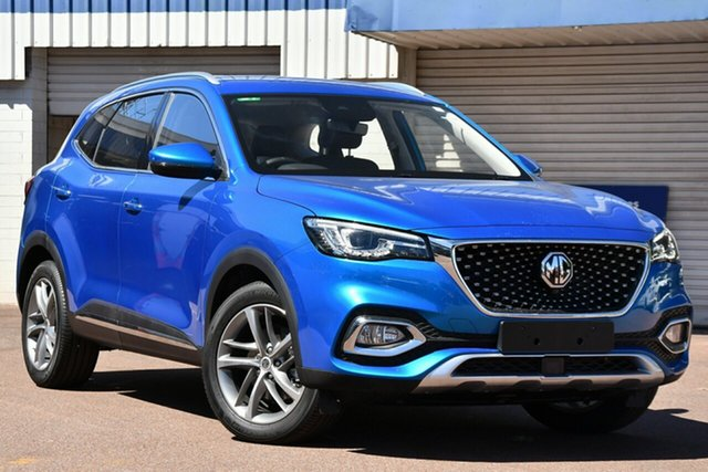 New MG HS SAS23 MY20 Excite DCT FWD Port Macquarie, 2020 MG HS SAS23 MY20 Excite DCT FWD Surfing Blue Metallic 7 Speed Sports Automatic Dual Clutch