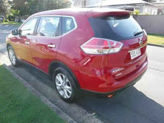 2014 Nissan X-Trail T32 ST Red 5 Speed Automatic Wagon