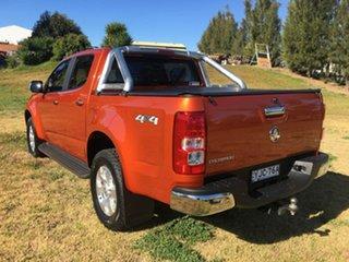 2015 Holden Colorado RG LTZ Orange Manual